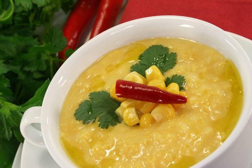 Zupa-krem z kukurydzy /123RF/PICSEL