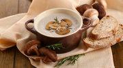 Zupa krem z pieczarkami