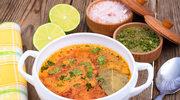 Zupa krem z pieczonego kalafiora i soczewicy