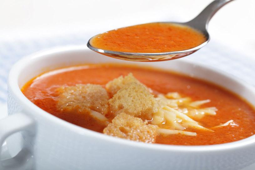 Zupa krem z pomidorów /123RF/PICSEL