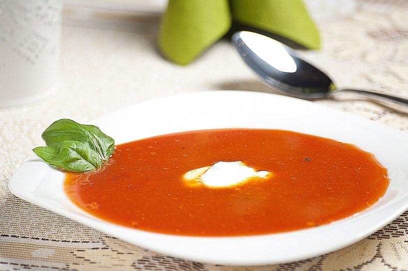 Zupa krem z pomidorów /materiały prasowe