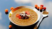 Zupa krem z sałaty lodowej i warzyw z rosołu