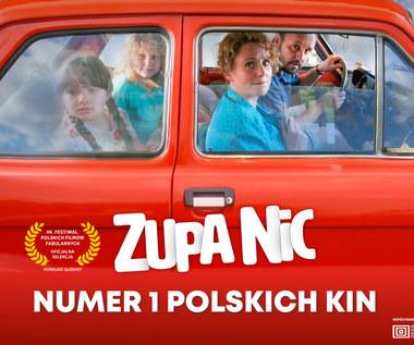 """""""Zupa nic"""": Najlepsze otwarcie polskiego filmu w 2021 roku"""