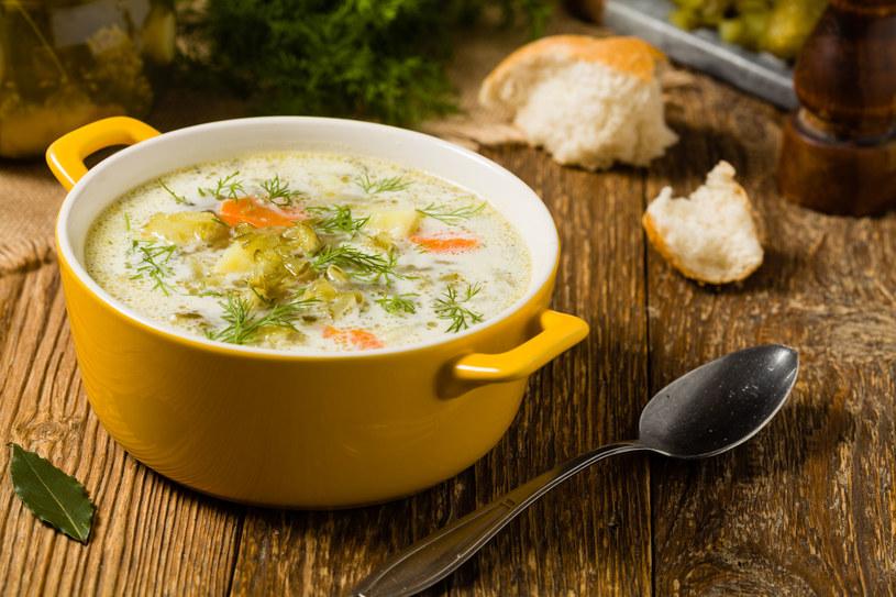 Zupa ogórkowa /123RF/PICSEL