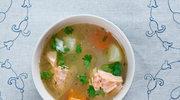 Zupa rybna na głowach karpia