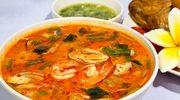 Zupa rybna z pomidorami i pomarańczą