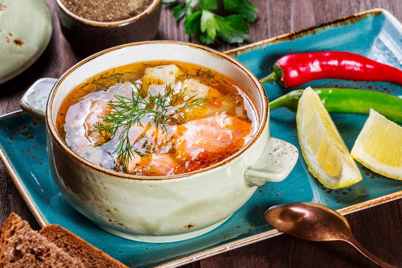 Zupa rybna /123RF/PICSEL