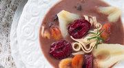 Zupa śliwkowa z aronią