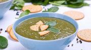 Zupa szpinakowa ze śmietaną