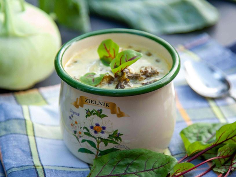 Zupa warzywno-szczawiowa /materiały prasowe