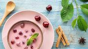 Zupa wiśniowa ze śmietaną