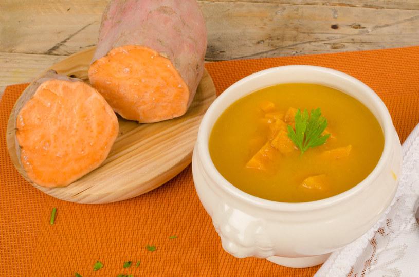 Zupa z batatów /123RF/PICSEL