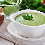 Zupa z bazylią i ogórkiem