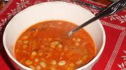 Zupa z biala fasola i z szalwia