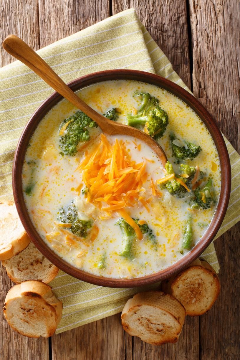 Zupa z brokułami /123RF/PICSEL