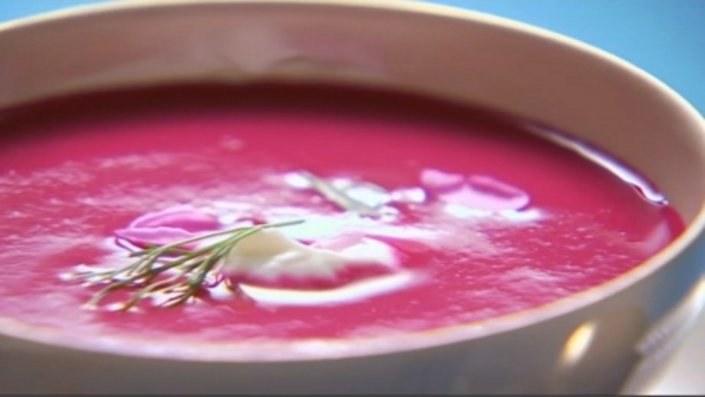 Zupa z buraka /materiały prasowe