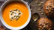 Zupa z dyni z prażonymi pestkami