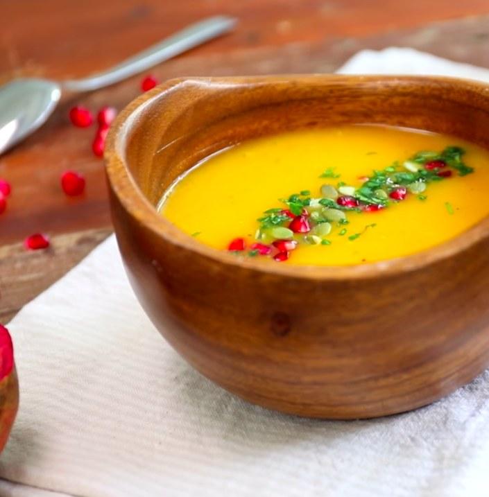 Zupa z dyni /materiały prasowe