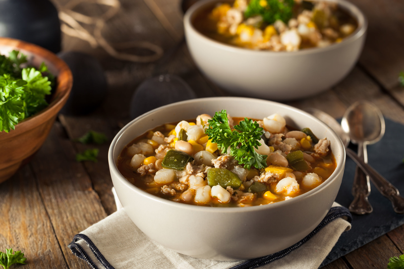 Zupa z fasolą /123RF/PICSEL