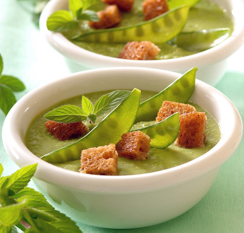 Zupa z groszkiem /123RF/PICSEL