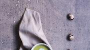 Zupa z groszku, brokułów i cukinii