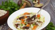 Zupa z kaszą na dwa smaczne sposoby!
