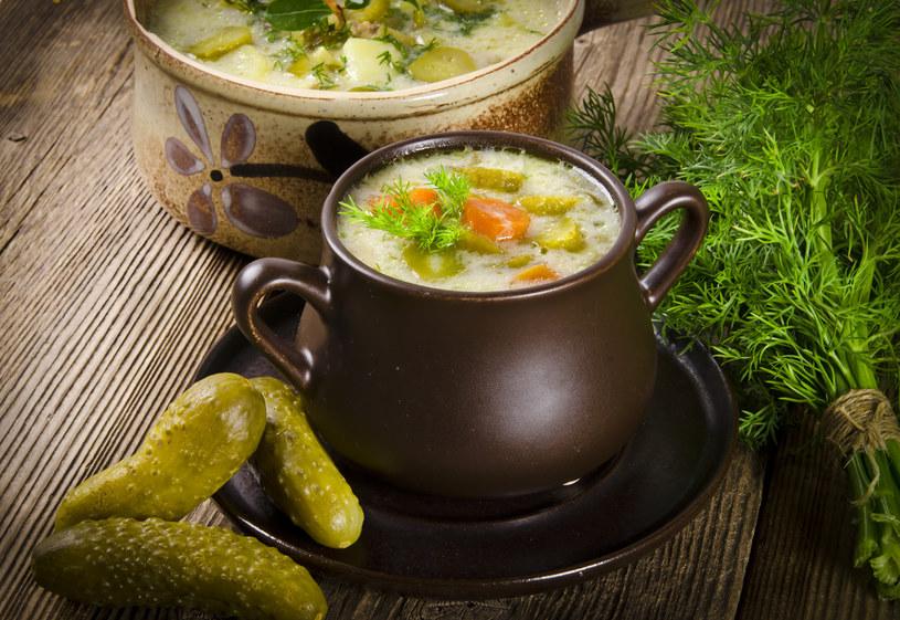 Zupa z kiszonych ogórków /materiały prasowe