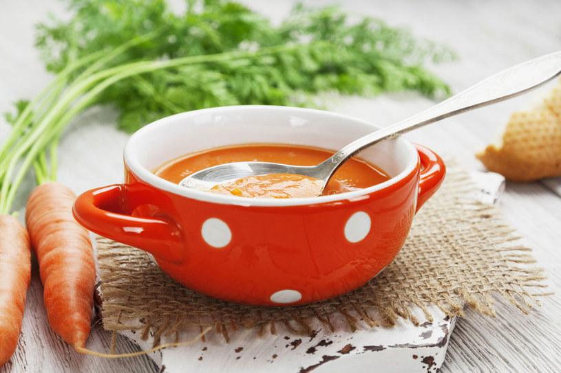 Zupa z marchwi /123RF/PICSEL