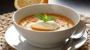 Zupa z marchwii i pomarańczy