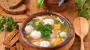Zupa z pulpecikami rybnymi