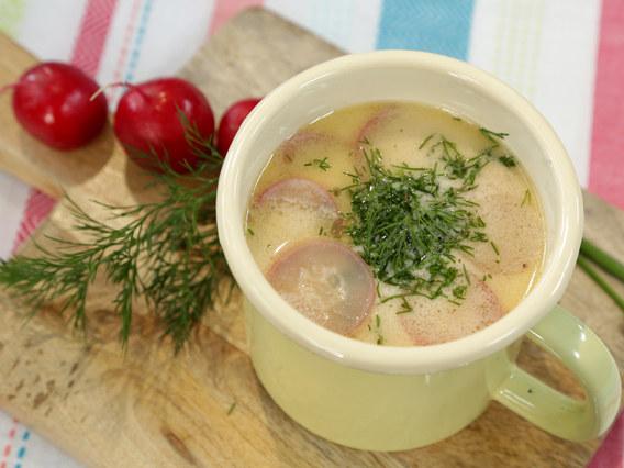 Zupa z rzodkiewką /materiały prasowe