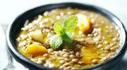 Zupa z soczewicy z pulpetami rybnymi