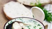 Zupa z solą i koperkiem