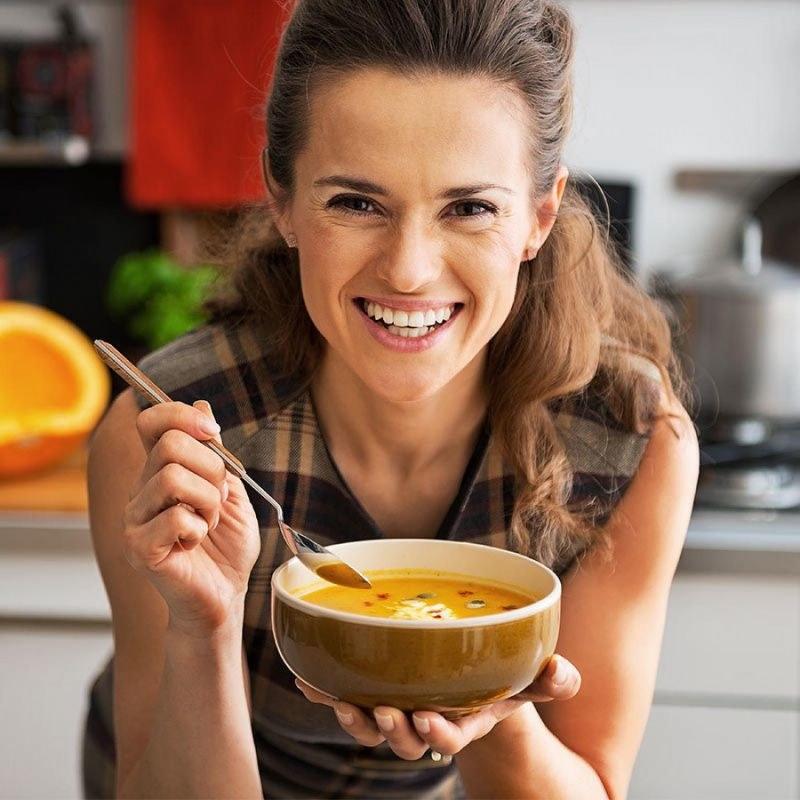 Zupa zamiast kanapek /© Photogenica