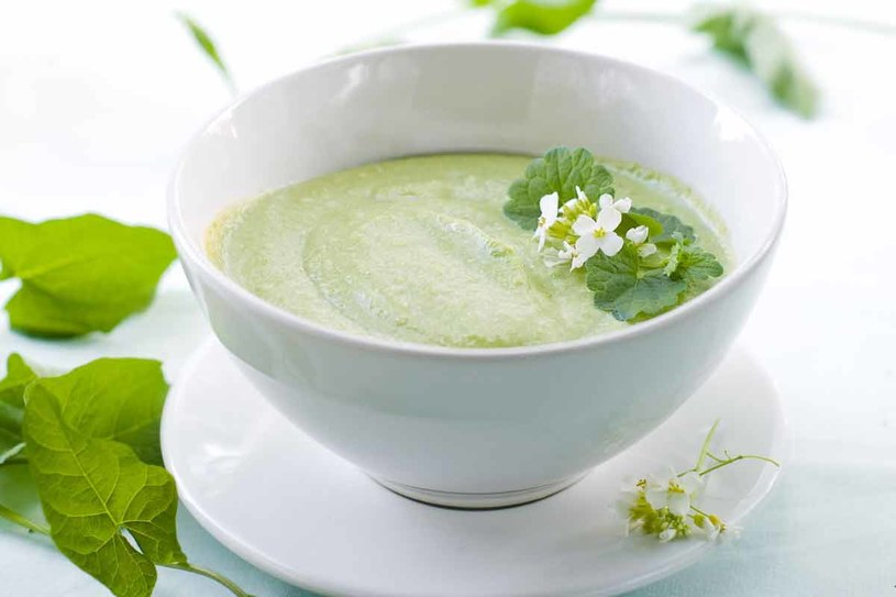 Zupa ze świeżych ogórków /123RF/PICSEL