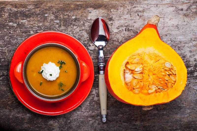Zupę dynową możesz przyrzadzić na słono lub na słodko  /© Panthermedia