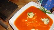 Zupy - pomidorowa z kuleczkami z ryzu
