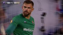 Żurkowski zadebiutował w Fiorentinie. Drągowski obronił rzut karny. Wideo