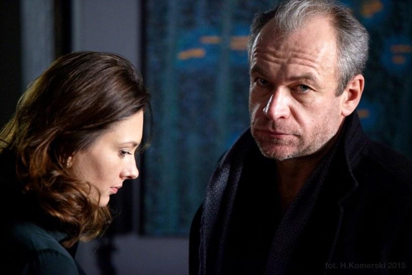 Zuza (Anita Sokołowska) i Jerzy (Mariusz Bonaszewski) /Polsat