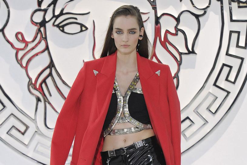 Zuzanna Bijoch - pokaz Versace jesień/zima 2013/2014 /Getty Images/Flash Press Media