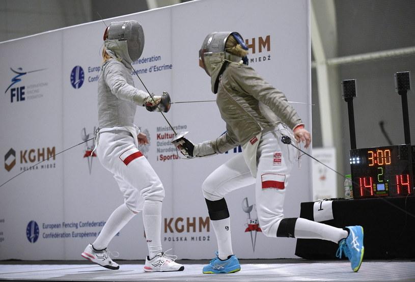 Zuzanna Cieślar (z lewej) kontra Angelika Wątor /PAP/Marcin Obara /PAP