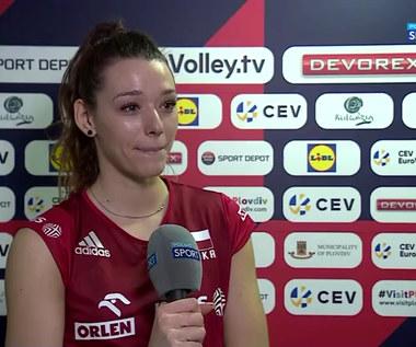 Zuzanna Górecka: Najważniejsze, że wygrałyśmy (POLSAT SPORT) Wideo