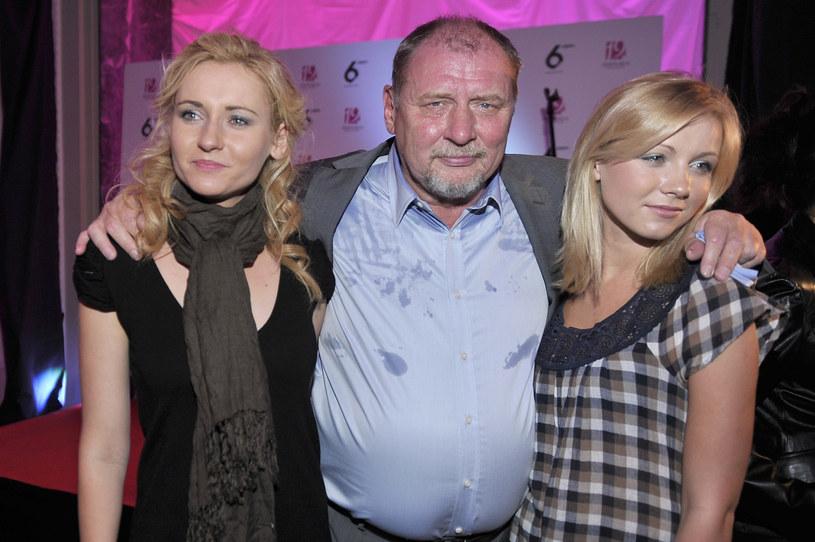 Zuzanna Grabowska, Andrzej Grabowski i Katarzyna Grabowska (z prawej) /AKPA