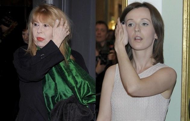 Zuzanna i Kamila Łapickie /- /AKPA