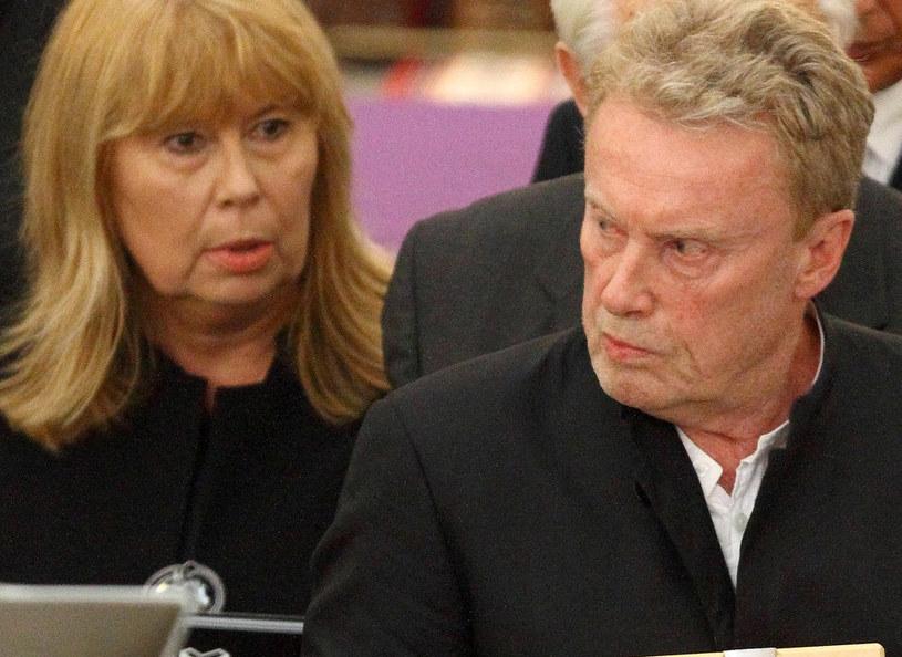 Zuzanna Łapicka i Daniel Olbrychski /Jan Kucharzyk /East News