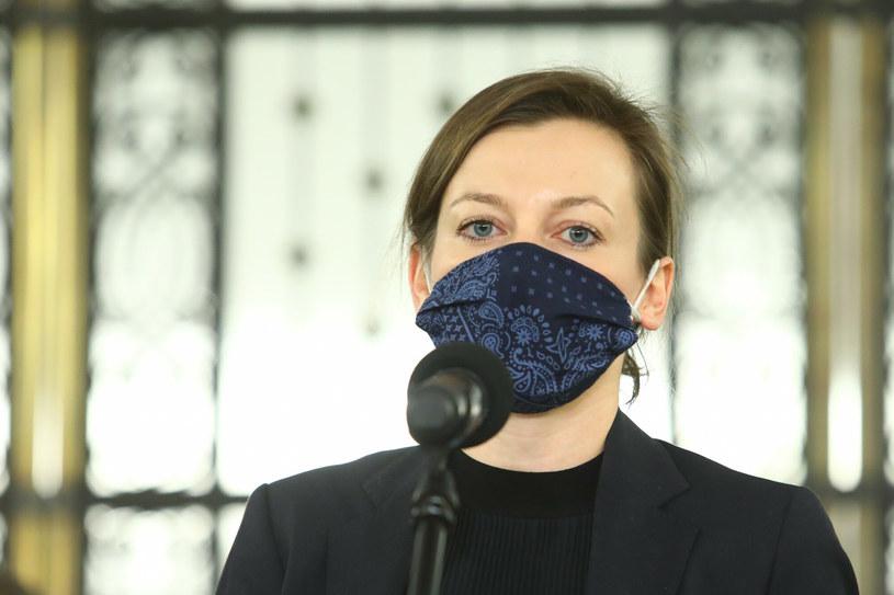 Zuzanna Rudzińska-Bluszcz jest kandydatką na fotel Rzecznika Praw Obywatelskich. /Tomasz Jastrzebowski/REPORTER /East News