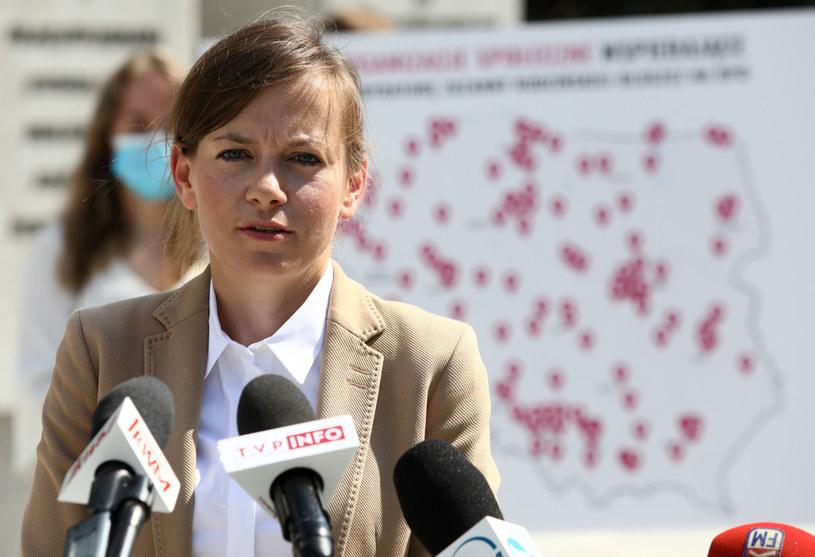 Zuzanna Rudzińska-Bluszcz, społeczna kandydatka na urząd Rzecznika Praw Obywatelskich /Piotr Molecki /East News