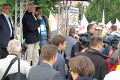 Związkowcy wyszli na ulice Gdańska