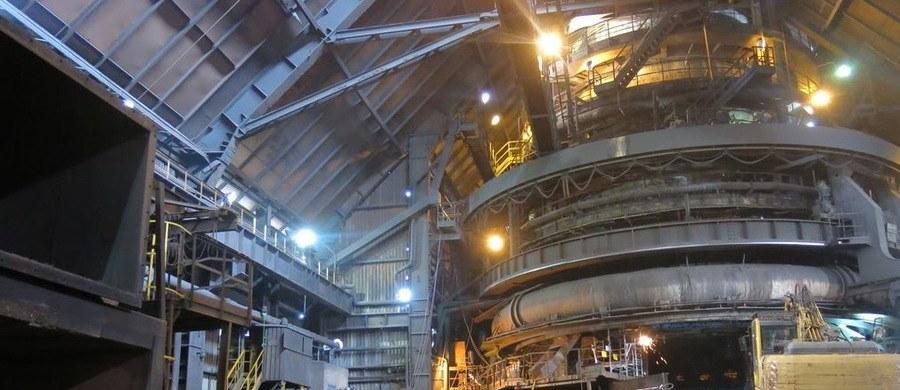 Związkowcy z ArcelorMittal Poland opuścili budynek dyrekcji /Józef Polewka, RMF FM
