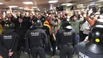 Związkowcy ze studentami zablokowali drogi i dworce kolejowe w Katalonii. Oprócz postulatów socjalnych, żądanie uwolnienia separatystów
